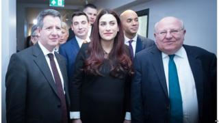 Chris Leslie, Luciana Berger, Mike Gapes and other former Labour MPs