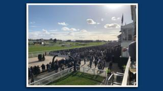 A view of Cheltenham Festival