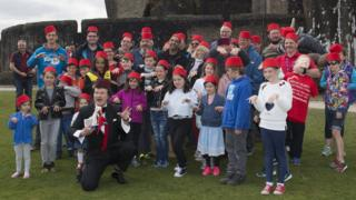 Participants at the Fez-tival in Caerphilly