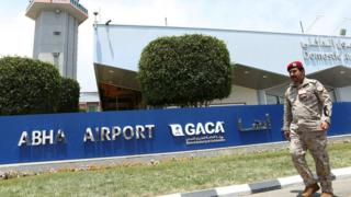 Abha airport security