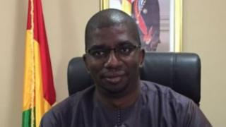Le ministre guinéen des mines Abdoulaye Magassouba