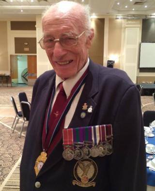 Veteran Peter Paice