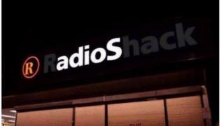 Radioshack sign photoshopped to read just adios
