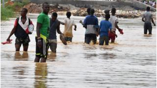 Floods, Climate Change, Africa