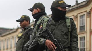 Colombian armed police