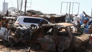 Au moins 70 personnes ont été tuées ce matin dans l'explosion d'une voiture piégée à Mogadiscio, la capitale.