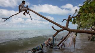 Tarawa in Kiribati