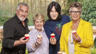 The Great British Bake Off hosts & judges