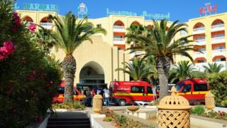 The hotels in Sousse