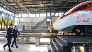 Hitachi UK train factory