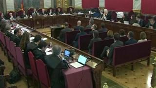 آغاز محاکمه رهبران استقلال طلب کاتالونیا در مادرید
