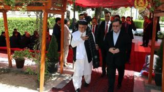 مراسم گرامی داشت از کشته شدگان ارتش در ارگ ریاست جمهوری برگزار شد