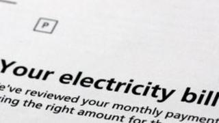 Счет на электричество