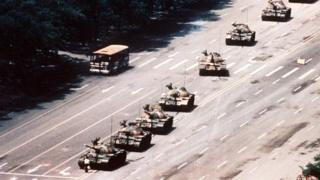 The Tiananmen Tank Man