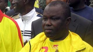 Anjorin Moucharafou madaxii hore ee xiriirka kubadda cagta Benin