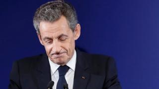 File photo: Nicolas Sarkozy