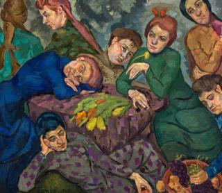 Dreams, by Helene Funke (1913)