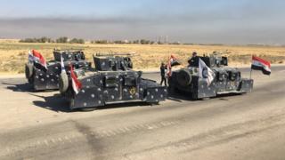 Irak zırhlı araçları
