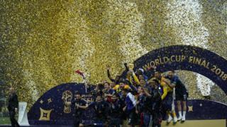 বিশ্বকাপ জয়ী ফ্রান্স দল