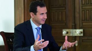 Bashar al Asad, presidente sirio