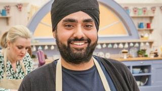 Rav Bansal on Great British Bake Off