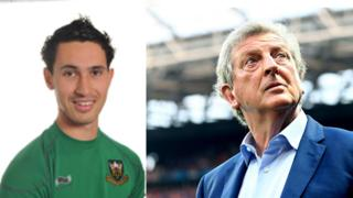 Sam Chambers and Roy Hodgson