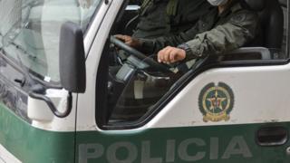 Колумбия, полиция