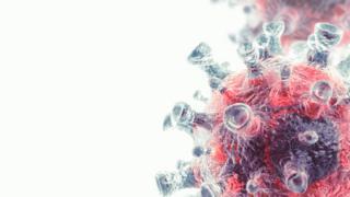Ilustração de célula cancerosa