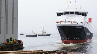 Launch of the UK's first LNG passenger ferry