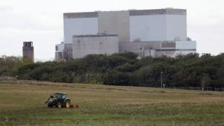 Hinkley Point C location in Somerset