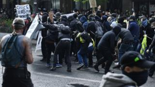 May Day protests France