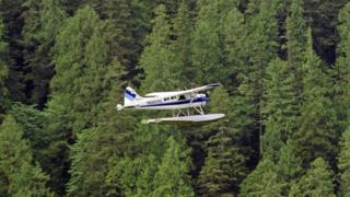 Самолет на Аляске
