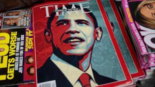 باراک اوباما، شخصیت سال مجله تایم در سال ۲۰۰۸