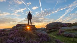 Peak District sunrise