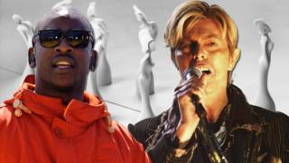 Skepta and David Bowie