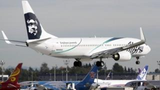 Alaska Airlines plane (file photo)