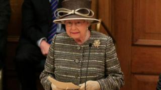 Queen speaking at opening of Church general synod