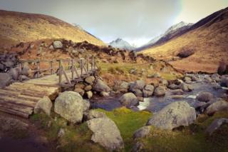 Mangela Coia sent in this photo of Glen Rosa on the Isle of Arran