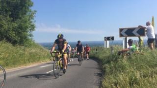 London to Brighton cyclists - Sun 18th June