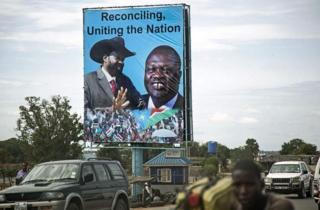 Rais Kiir na Riek Machar walibuni serikali ya umoja mwaka huu lakini kwa sasa Machar ametimuliwa.