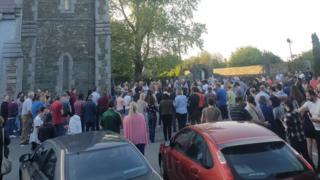 Vigil for Cameron Reilly