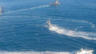 Кораблі у морі