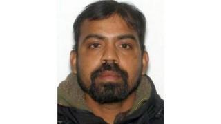 An image of Kirushna Kumar Kanagaratnam released by police on Monday