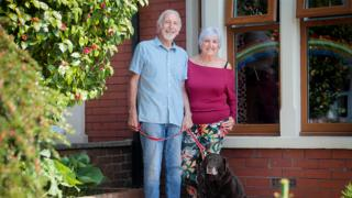 in_pictures Carole and Peter from Whitchurch, Cardiff
