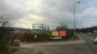 Site of proposed incinerator