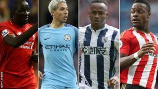 Mamadou Sakho, Samir Nasri, Saido Berahino & Lamine Kone