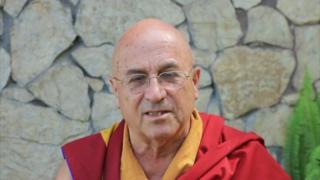O monge budista Matthieu Ricard