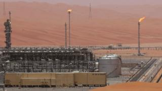 सऊदी अरामको का एक तेल संयंत्र