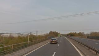 A47 dual carriageway between saddlebow interchange and Hardwick roundabout