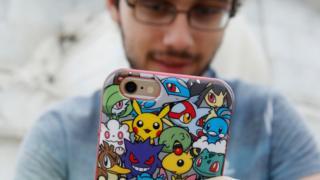 Gamer com celular